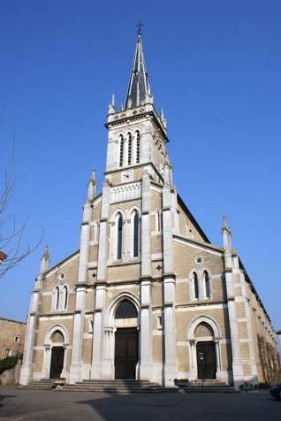 Eglise Saint-Laurent - XIXème siècle