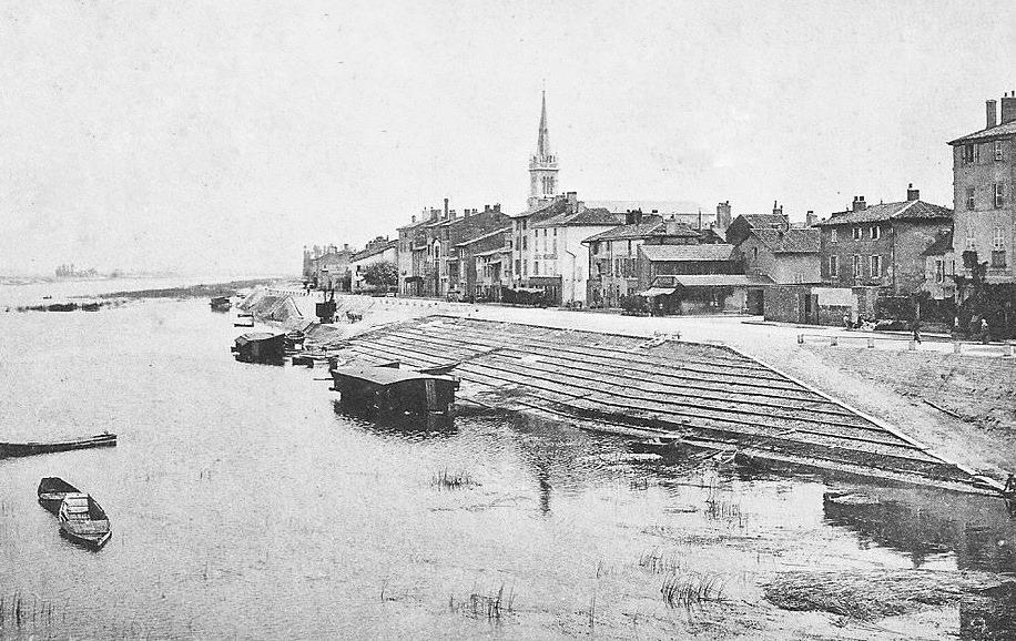 Saint Laurent sur saone Histoire