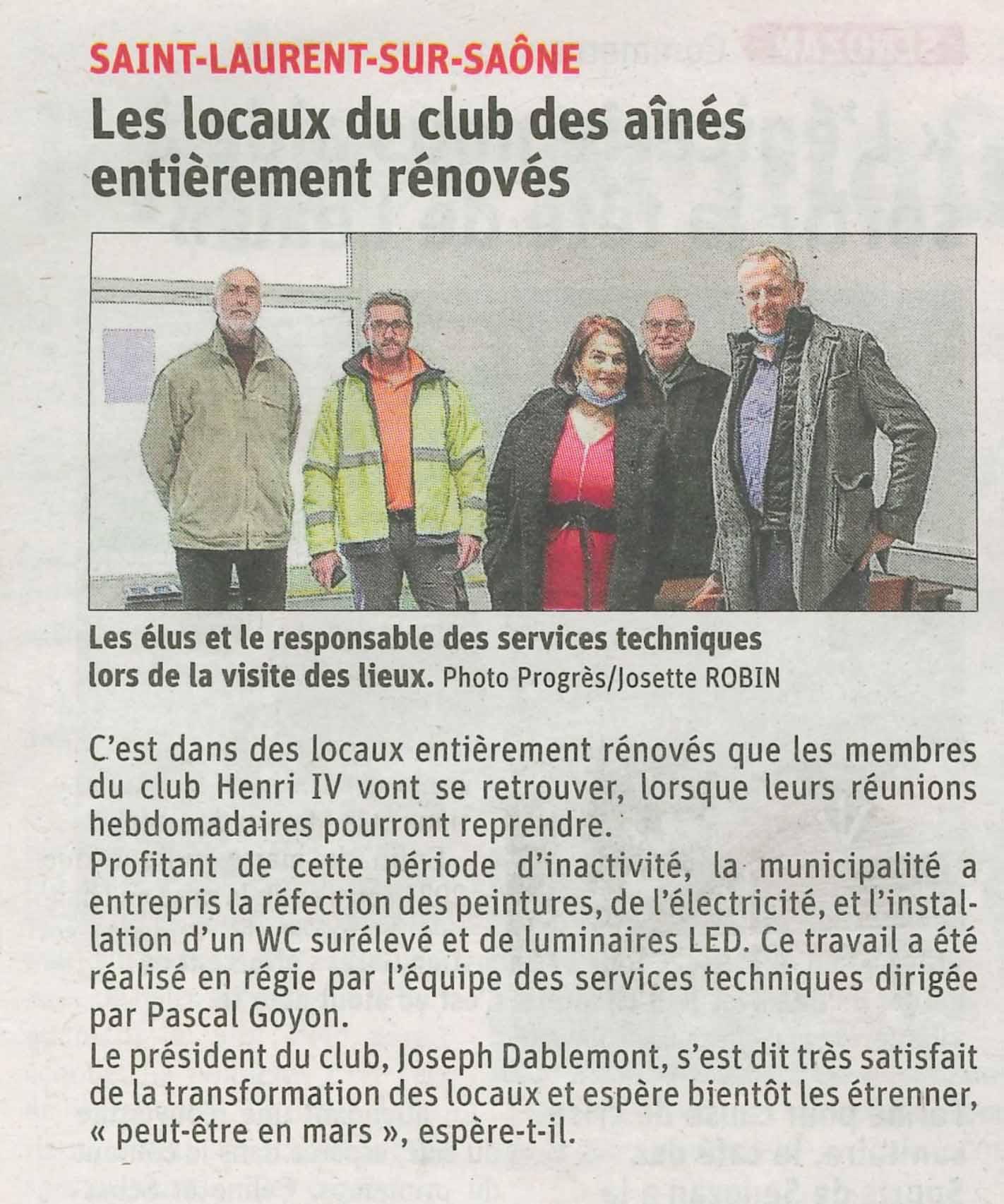 Article-JSL-11_01_2021réfection-club-Henri-IV